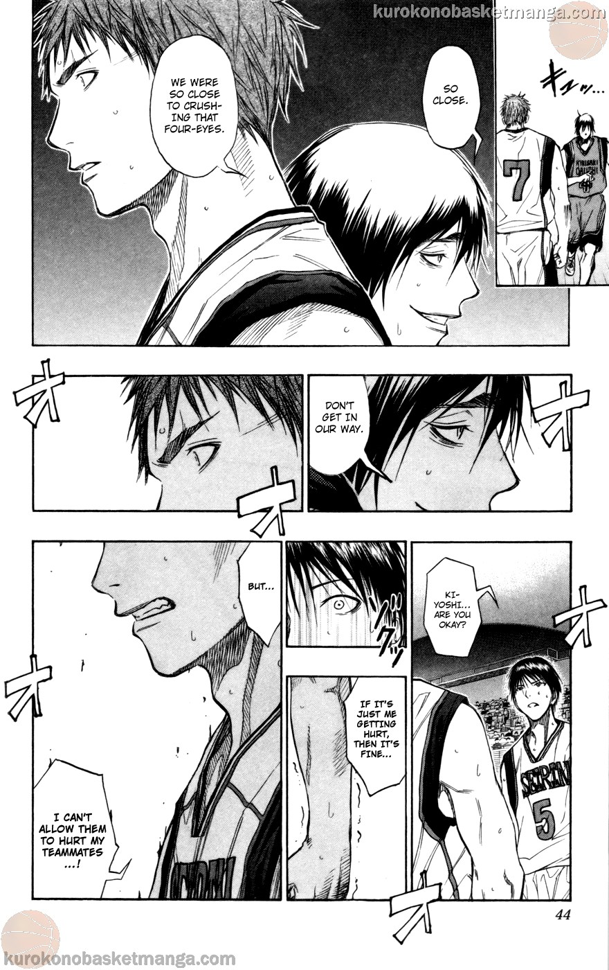 Kuroko no Basket Manga Chapter 101 - Image 17
