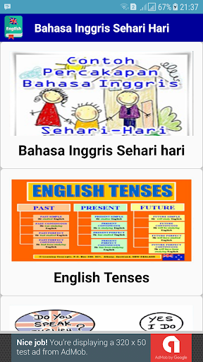 Belajar Bahasa Inggris Sehari hari 1.6 screenshots 2