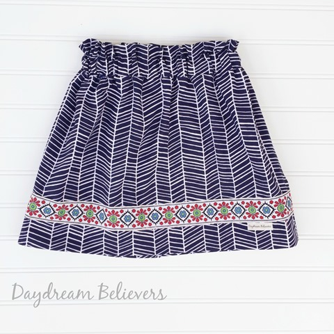 Daydream Believers Designs boho summer skirt