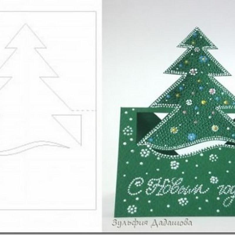 Manualidades Tarjetas de Navidad
