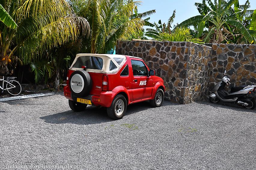 Rent a car in Mauritius