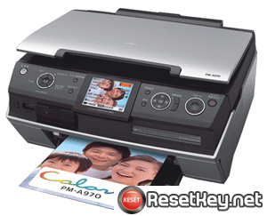Reset Epson PM-A970 printer Waste Ink Pads Counter