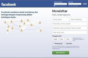 Cara Mudah Daftar Akun Facebook Untuk Pemula