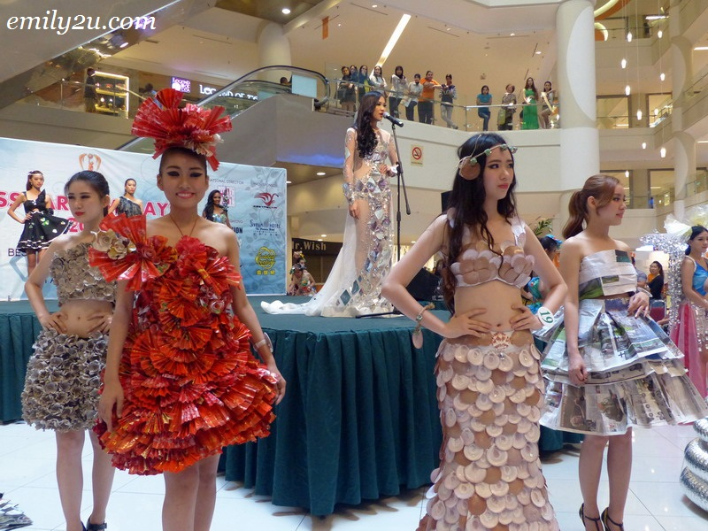 Miss Malaysia Earth 2015 - Best in Eco Fashion Design & Talent