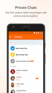 Voxer Walkie Talkie Messenger- screenshot thumbnail