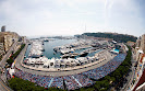 Overview of Monaco F1 circuit
