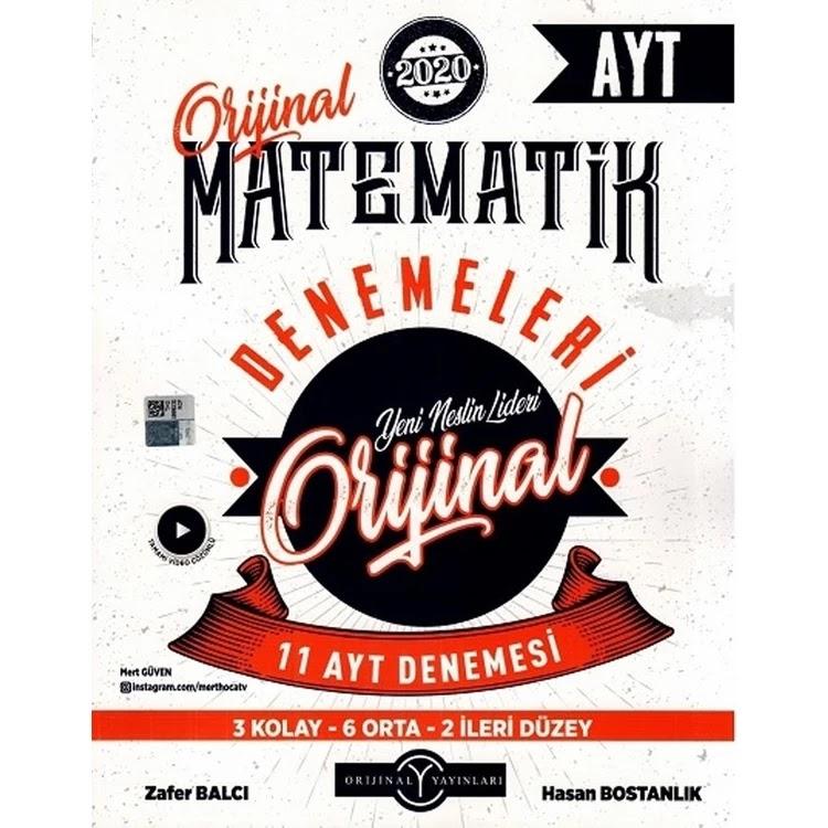 Orijinal Yayınları - AYT Matematik - 25'li Deneme