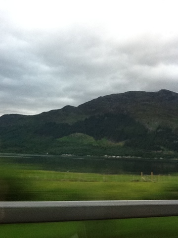 Scenery around the Scotland Highlands
