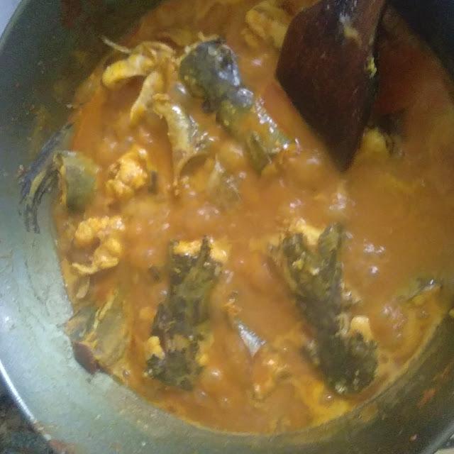 Ikan keli masak kari