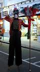 Toy Soldier on stilts