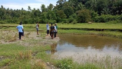 Poltek KP Pariaman Kembangkan Budi Daya 'Ikan Gariang' di Nagari Guguak Kuranji Hilir Demi Masyarakat Sejahtera