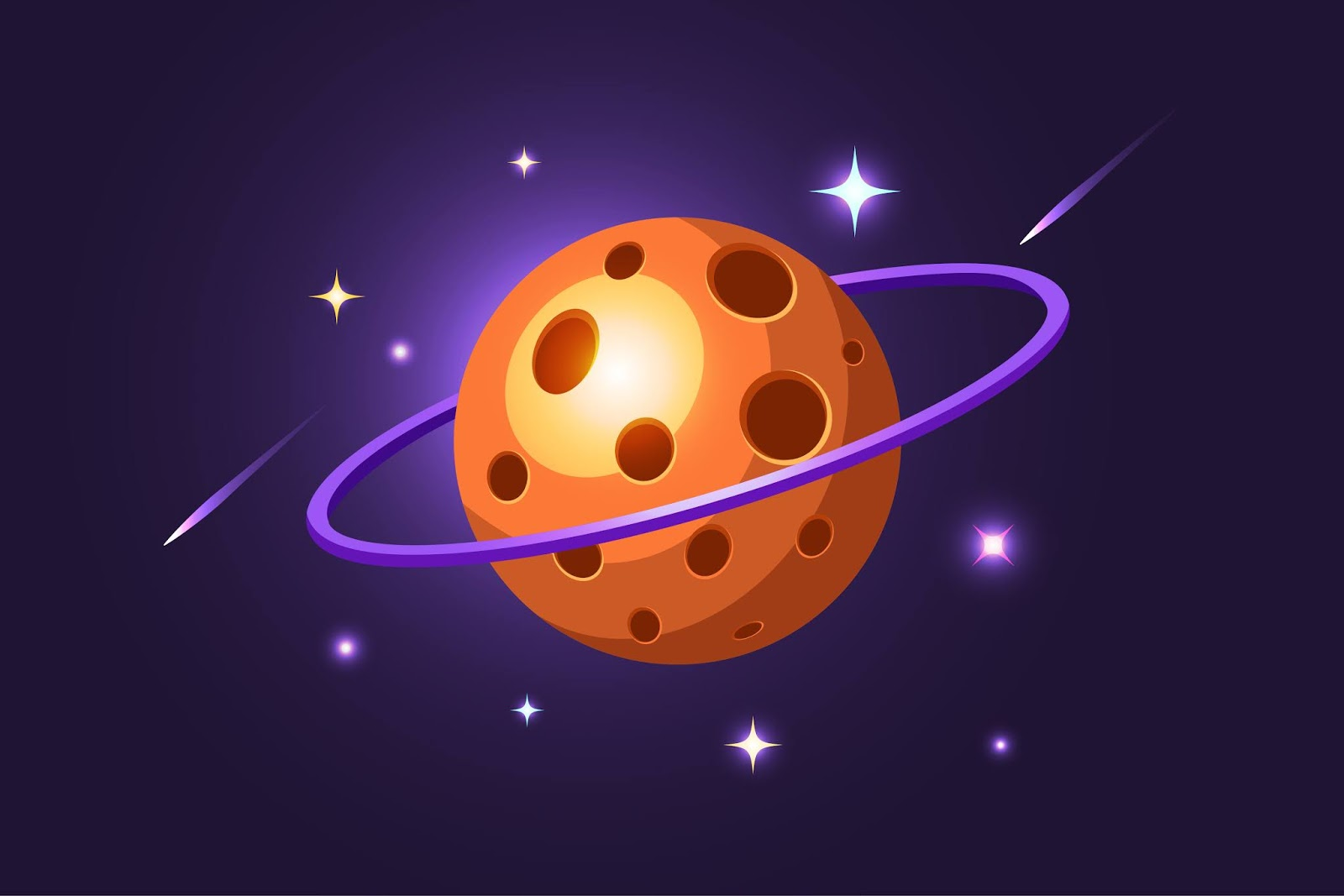 Cheese Planet Illustration Free Download Vector CDR, AI, EPS and PNG Formats
