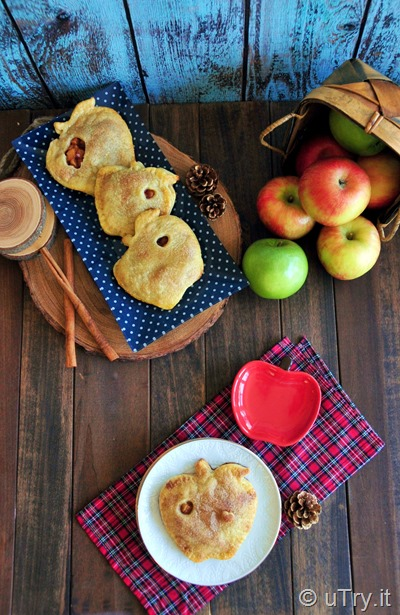 Welcome Fall with these Apple Hand Pies 蘋果批 (with video tutorial)  http://uTry.it