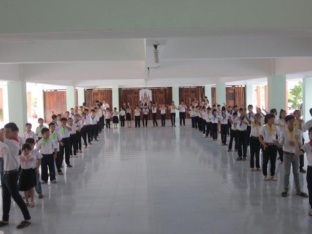 Giáo Xứ Tân Hội tổ chức trại huấn luyện và sinh hoạt hè cho các em Thiếu Nhi Thánh Thể.