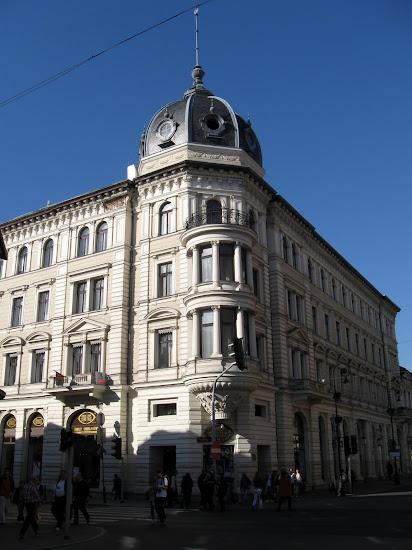 Łódź - kamienice na piotrkowskiej