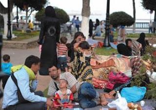 Le chagrin des réfugiés syriens: Vivre loin de Damas