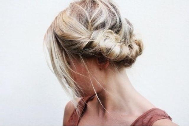 #coque #coqueenrolado #knot #bun #rolledknot #rollled bun #hair #blond