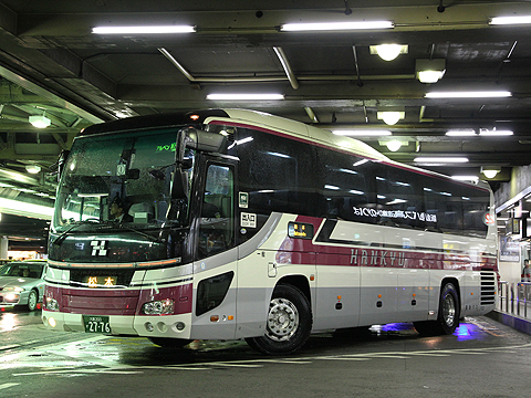 阪急バス「アルペン松本号」 1022