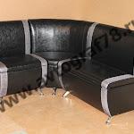 """Модель """"Дипломат"""" набор: диван 600 мм, угловая секция, диван 900 мм (Egoist 901 - Patina romb 620)"""