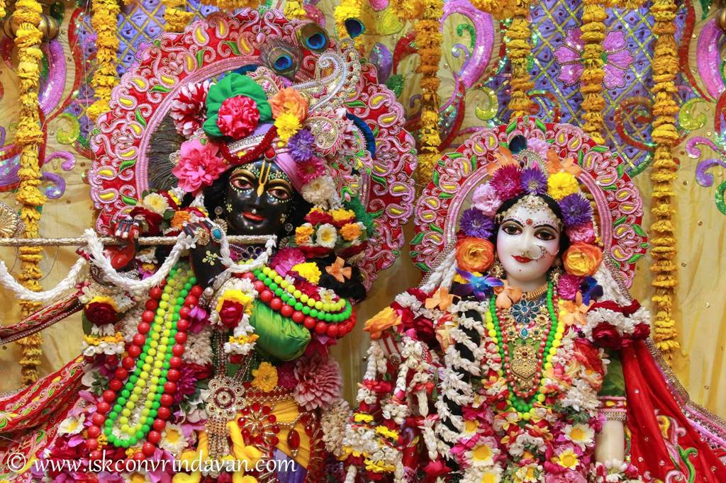 ISKCON Vrindavan Sringar Deity Darshan 29 Feb 2016 (11)