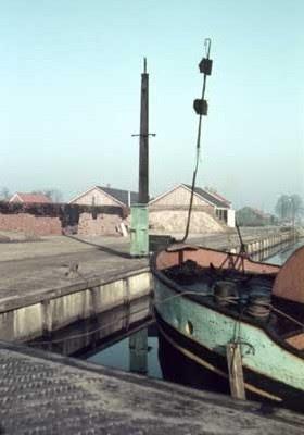 De Haven van het Ommerkanaal in Ommen
