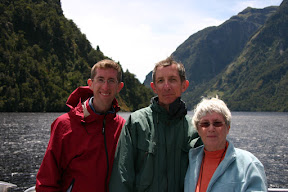 The Stebila Family on Doubtful Sound