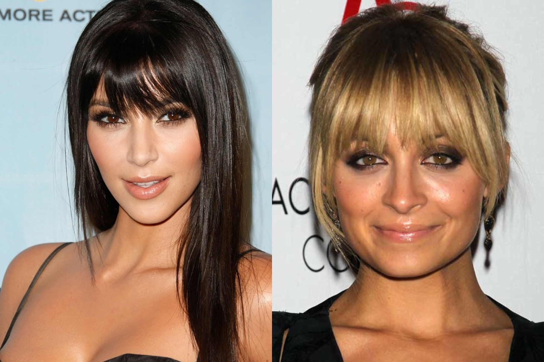 2018 Long Bangs Hairstyles For Women's - Haircuts Bangs 1