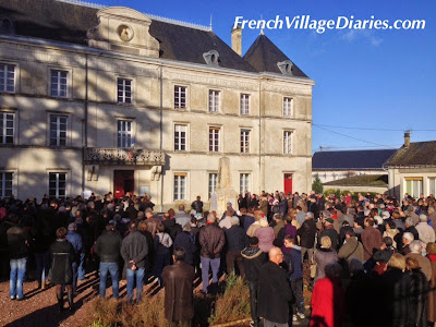 French Village Diaries Chef Boutonne France manifestation Je Suis Charlie
