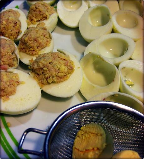 Receta Huevos Rellenos