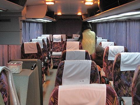 北海道中央バス「イーグルライナー」 1532 車内