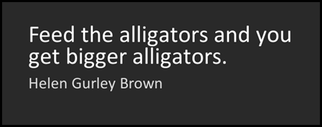 alligator quote