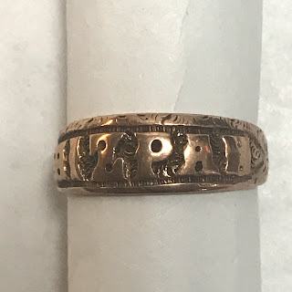 9K Gold Mizpah Ring