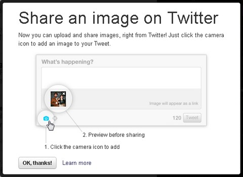 Twitter's Native Photo Sharing Feature Launched
