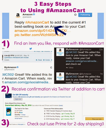 3 Easy Steps to Using #AmazonCart #cbias