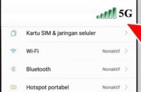 Ayo Rubah Jaringan 4G ke 5G Untuk Pengguna Android, Begini Caranya