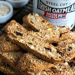 Steel Cut Oats Breakfast Biscotti Recipe