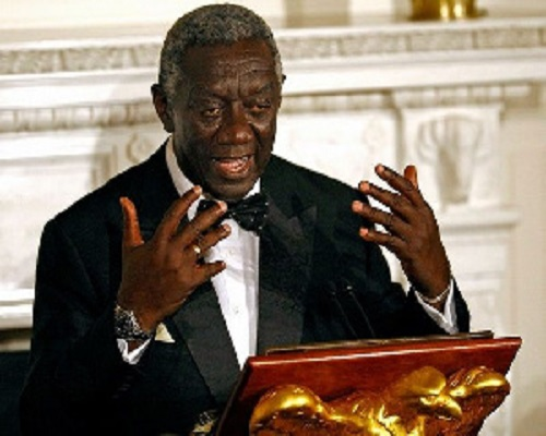 Kufuor And Addo Kufour Slam NPP woman For Peddling Falsehood About Them