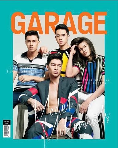 Garage Magazine July 2016: Gil Cuerva, Erie Obsena, David