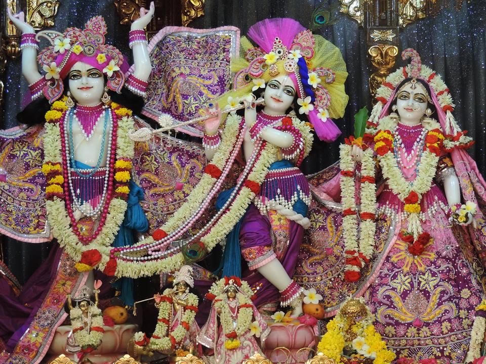 ISKCON Bangalore Deity Darshan 28 May 2016 (1)