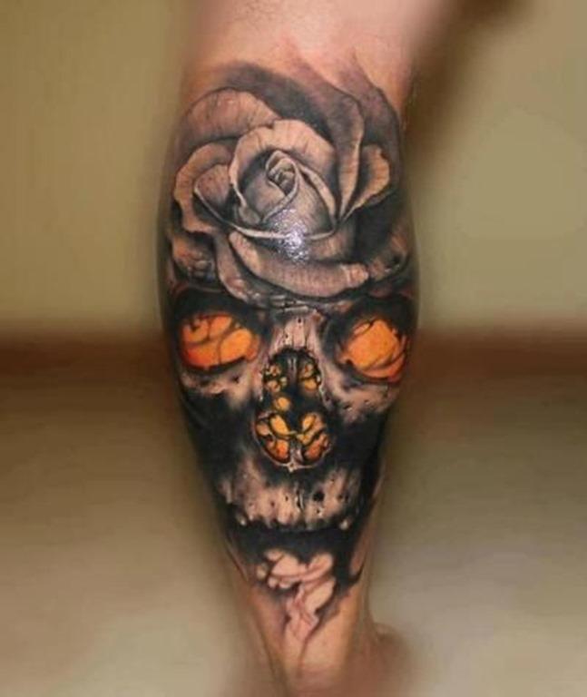 açcar_crnio_de_tatuagem_para_homens