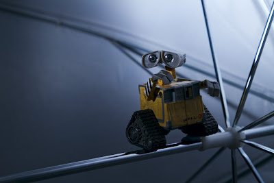 Wall-e on a Wire