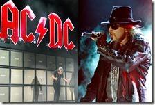Axl Rose nuove cantante degli AC/DC