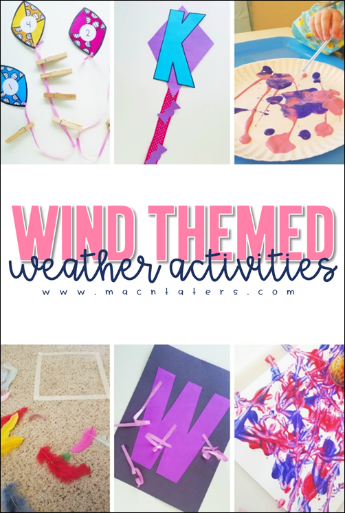Wind Themed Weather Activities for Kids