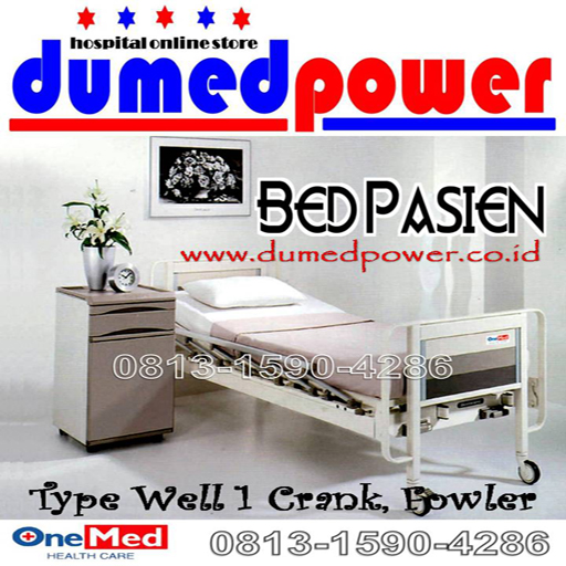 Bed+Pasien_1+crank_Fowler_OneMed