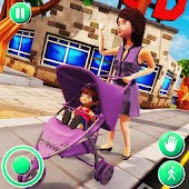 Virtual Babysitter : Happy Family Fun Simulator Android APK Download Free By Toucan Games 3D