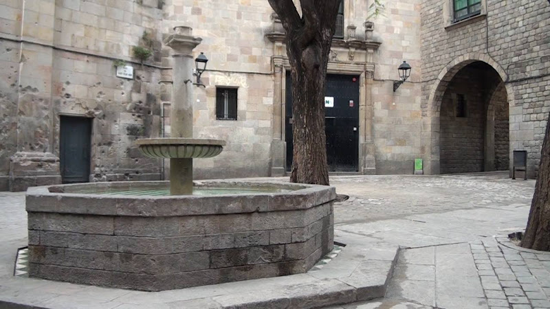 Plaza Sant Felipe Neri en Barcelona