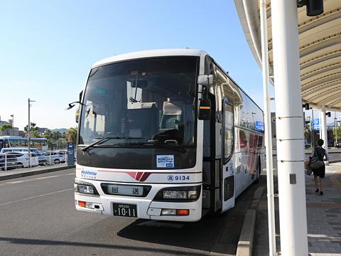 西鉄高速バス「桜島号」 9134 鹿児島本港到着