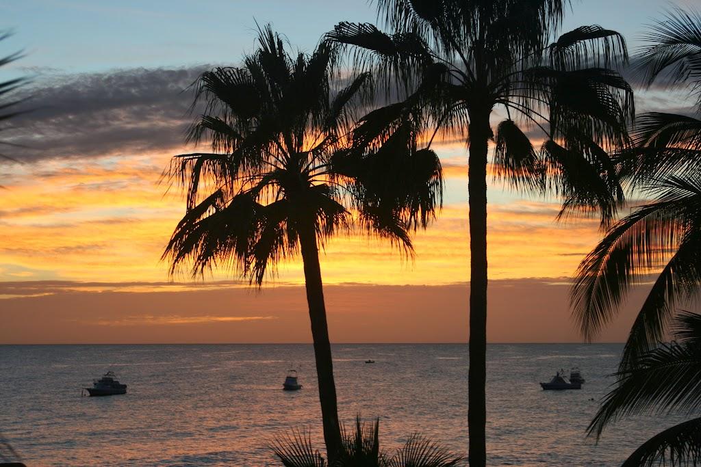 Baja fishing sunrise