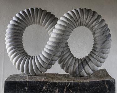 Vanya: CARRARA MARBLE, 2016: W 133cm, H 120 cm, D 40 cm; £25,000
