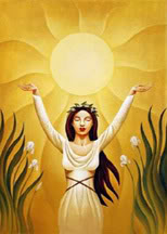 The Sun Goddess Of Korea Image